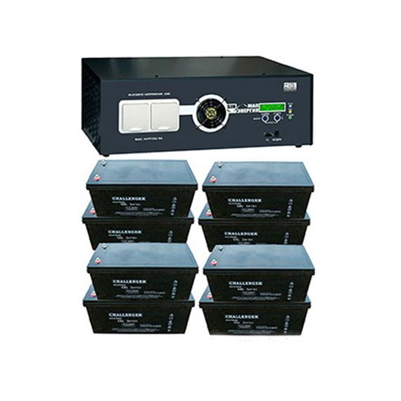 Автономная система резервного питания (ИБП) 12 кВт (220 В)
