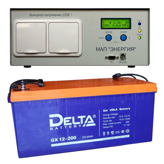 ИБП 1,3 кВт (220 В) для котла