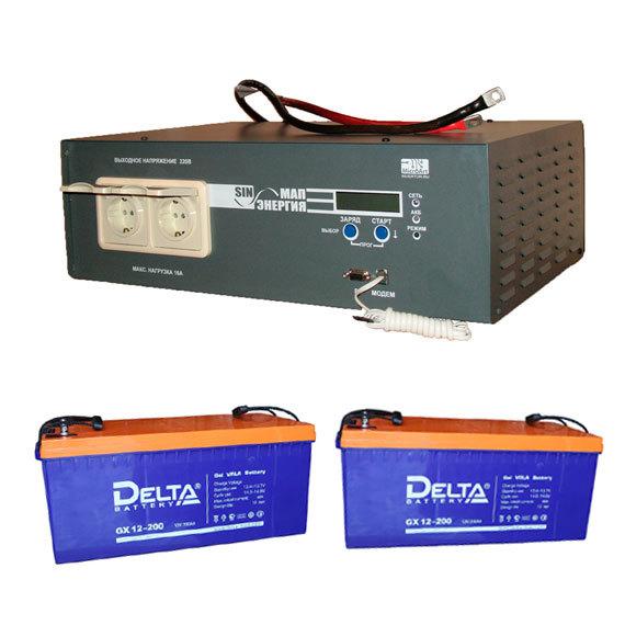 Автономная система резервного питания (ИБП) 3 кВт (220 В)